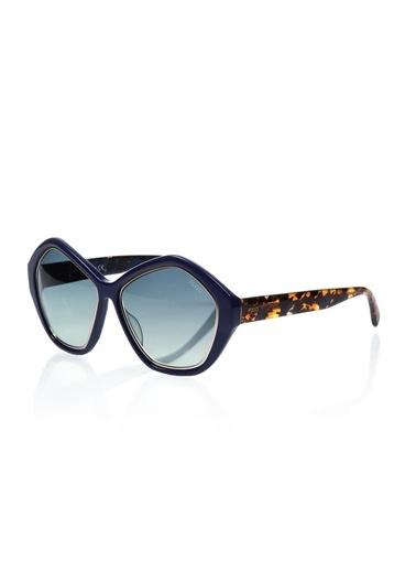 Emilio Pucci  Ep 0019 90W Kadın Güneş Gözlüğü Mavi